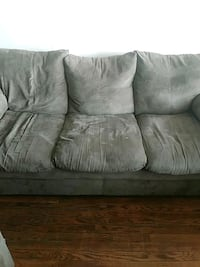 gray fabric 3-seat sofa Washington, 20019