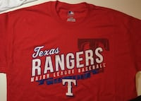 Texas Rangers Slanted Logo Shirt Little Rock