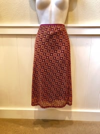 Beautiful lined fall colored Wanted Clothing Company Stretchy Long skirt. Great condition and very comfortable. Sz M Las Vegas, 89135