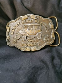 henery Ford vintage belt buckle  Beaverton, 97008
