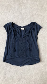 XS Hollister navy blue shirt Lancaster, 14086