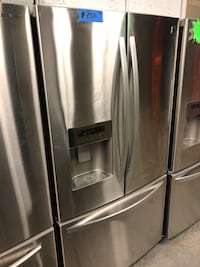 KENMORE stainless steel French doors fridge