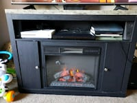 Electric Fireplace Entertainment Stand Auburn, 95603