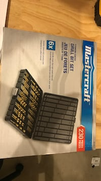 Mastercraft Drill bit set  New Tecumseth, L0G