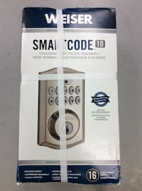 Weiser SmartCode 10 Deadbolt - 16 User Codes - NEW! Mississauga, L5J 1J7