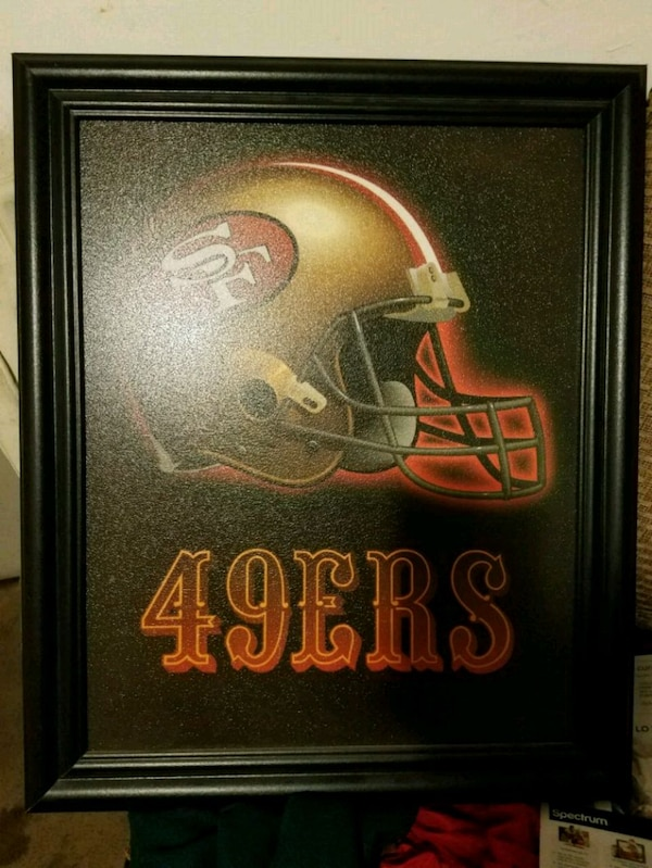 64f05936d8944 Used San Francisco 49ers artwork with black frame for sale in Pomona ...