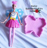 Barbie Dreamtopia Bubbletastic Fairy Doll - $10  Toronto, M9B 6C4