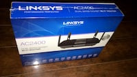 Sealed & brand new linksys ac2400 dual band gigabit wireless router Langley, V2Y 2T2