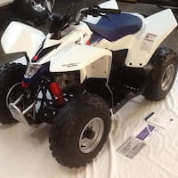 Kids Suzuki 90 cc quad brand new with only 5 hrs on it  South Windsor, 06074