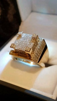 14kt & Diamond Gents Custom Ring Toronto, M9B 3J7