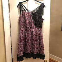 Anna Sui Floral Dress Washington