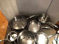 Wolfgang Puck Cafe Collection  Set of 6 Pots and Pans Price is For All Manassas, 20112