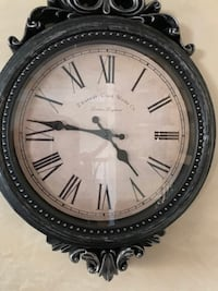 Beautiful antique looking clock Richmond County
