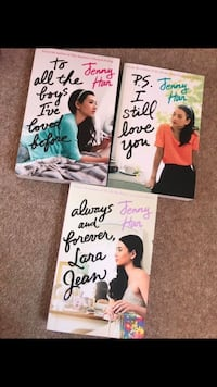 To all the boys I've loved before book series x3 , TS25 4BF