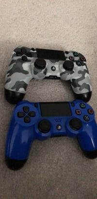 blue and black camouflage Sony PS4 controller Brampton, L6V 0X5