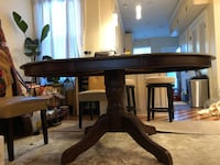 Pier1imports Oval Dining room table (Just reduced) Washington, 20001