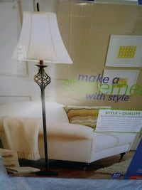 white and brown table lamp box Ontario, 91761