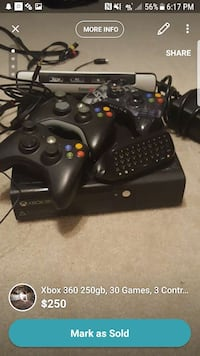 Xbox 360 new model lots of extras Central, 70739