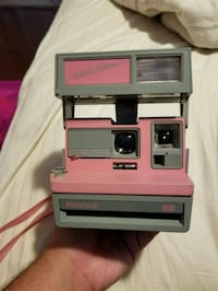 "Pink & grey ""Cool Cam"" Polaroid camera with film Port Hueneme, 93041"