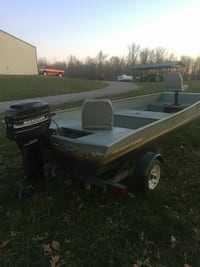 16ft 2003 tracker 18 hp mercury Reynolds Station, 42368