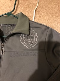 Monarchy Grey zip up jacket