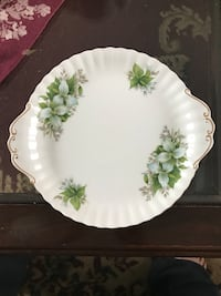Royal Albert Trillium plate Port Coquitlam, V3B 2A3