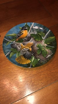 "KNOWLES ""THE BALTIMORE ORIOLE"" COLLECTOR PLATE Littlestown, 17340"
