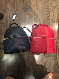Navy Or Red Tommy Hilfiger backpacks