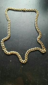 14k gold Cuban link Chain