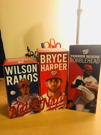 Looking to trade one of these for a Soto or Rendon bobblehead Manassas, 20112