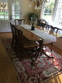 brown wooden dining table set Washington, 20024