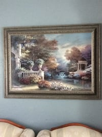 brown wooden framed painting of house Gainesville, 32606