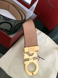 Leather ferragamo belt Montréal, H1H 4R4