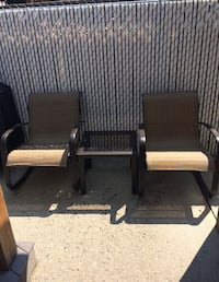 Patio chair and table set Calgary, T3M 0P2