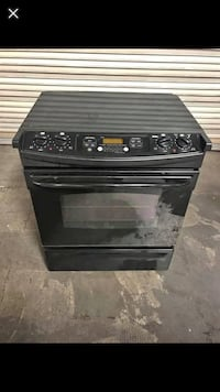 Electric GE Black Stove Las Vegas, 89120