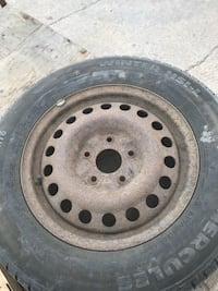 Hercules winter tires 235 16 60 With rims
