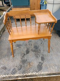 Old chair /desk