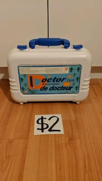 Doctor Toy Set with Carrying Case Mississauga, L5M 4S9