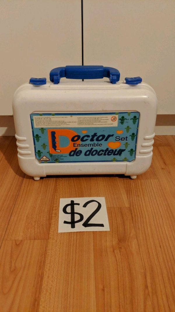Doctor Toy Set with Carrying Case