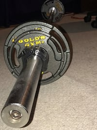 7 ft Barbell with weights Meriden, 06450