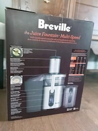 Juicer - Breville Juice Fountain Multi Speed