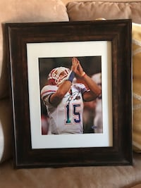 Tim Tebow Autographed Framed 8x10