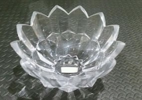 Diamond pointed mikasa bowl