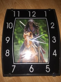 michonne the walking dead clock