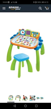 VTech activity table in French Toronto, M6M 3C1