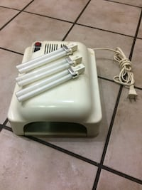 UV Curing Light w/ extra bulbs Surrey, V3R 7W7