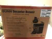 Bunn Decanter Brewer 12 cup coffee maker. BRAND NEW never been used. Retails between 250-400 Rockville, 20852