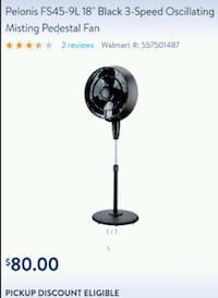 Mister fan, brand new in the box Shasta Lake, 96019