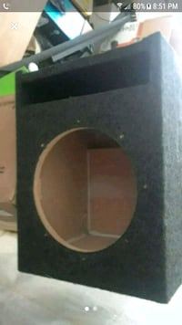 "10""  Single Sub Box Stockton, 95206"