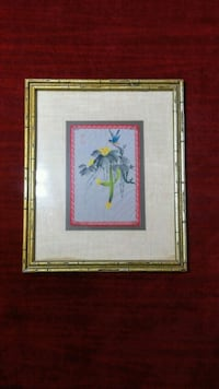 Watercolor painting on Cloth Anaheim, 92805